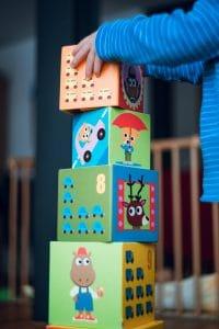טיפול רגשי בילדים - קוביות